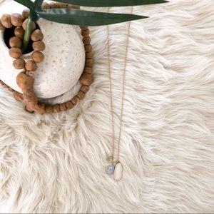 Stella & Dot • Gold Charm Necklace